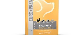 Euro-premium small puppy chicken & rice 1 kg