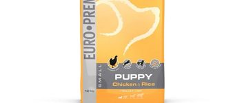 Euro-premium small puppy chicken & rice 12 kg