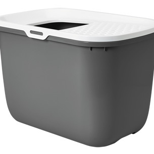 Toilethuis hop in antraciet 58x39x40cm