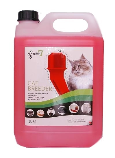 Green 7 CAT BREEDER All Clean 5L