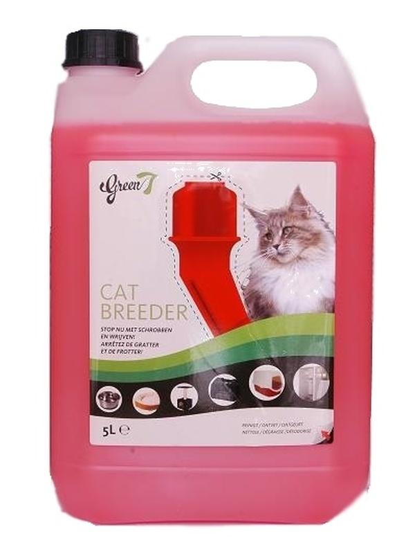 Green 7 CAT BREEDER All Clean 5L