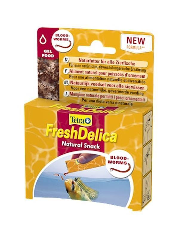 Tetra FreshDelica Bloodworms 48gr