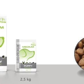 Euro-premium medium puppy digestion+ 2,5 Kg
