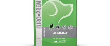 Euro-premium medium adult chicken & rice 3 kg