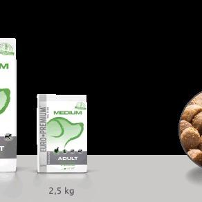 Euro-premium medium adult sterilized 10 kg