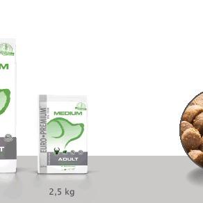 Euro-premium medium adult digestion+ 10 Kg