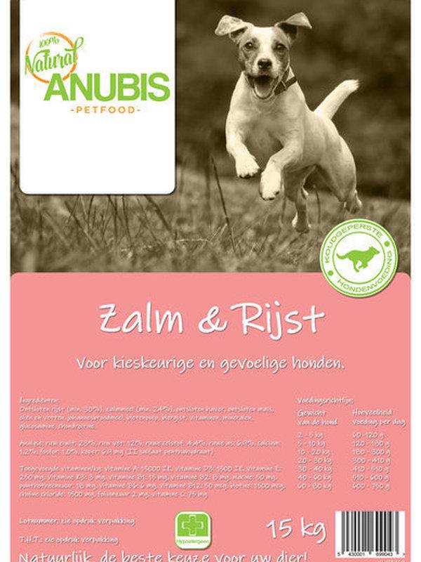Anubis zalm & rijst 15 kg