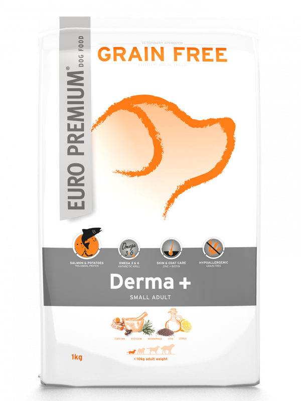 Euro-premium small derma+ 1 Kg