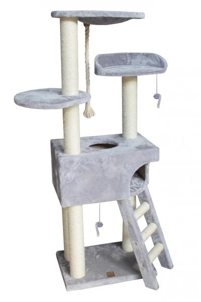 Krabpaal classictree boxstep Grijs 56x35x154CM