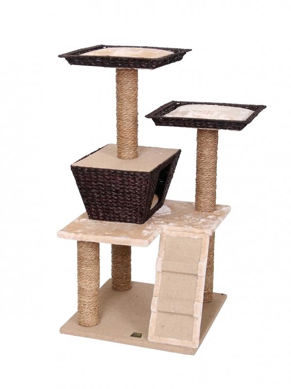 Krabpaal trend cat-tree saint-martin 58x58x114,5CM