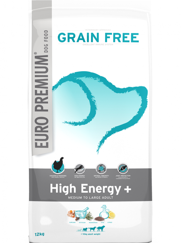 Euro-premium large adult high energy 12 kg