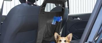 Auto veiligheidsafscheiding Zwart 70x60cm
