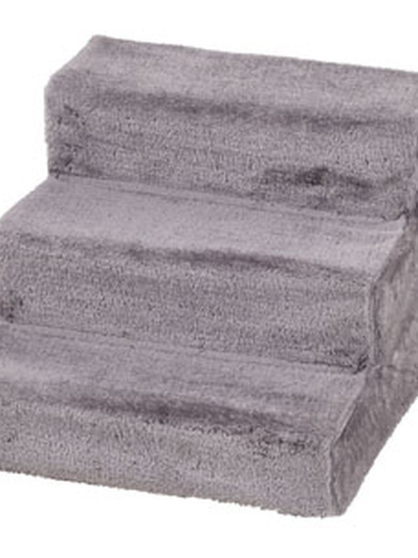 Easy step hondentrap grijs 43x41x30cm