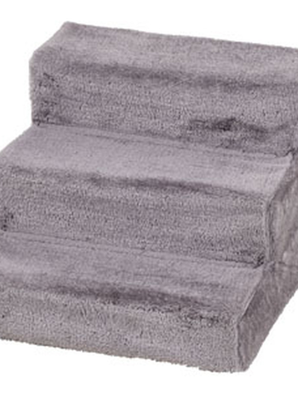 Easy step hondentrap grijs 60x45x40cm