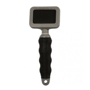 Slickerborstel small Zwart/grijs