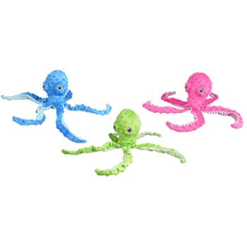 Plush octopus 40 CM met pieper