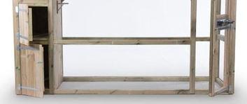 Volière 350 x 100 x 185cm