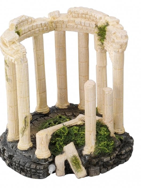 Romeins paviljoen met luchtsteen S - 11x6x10,5CM