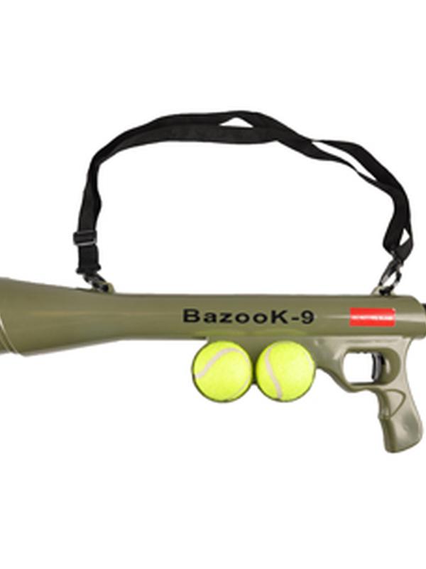 Bazooka shooter+ tennis ball
