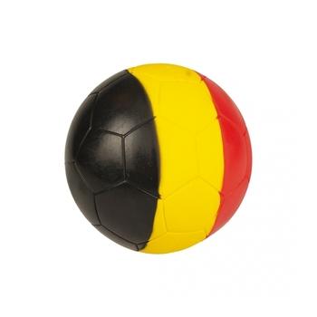 Latex voetbal driekleur goo belgium Gemengde kleuren 18x18x18CM