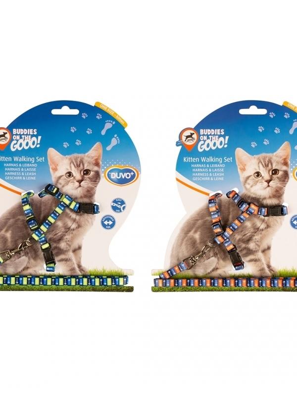 Kitten wandelset visgraat 15-25cm / 8mm-125cm