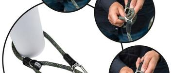 H5d leisure clic leiband blauw 13mm x 140cm