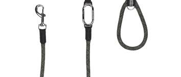 H5d leisure clic leiband zwart 13mm x 140cm