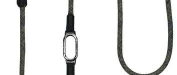 H5d leisure clic schouderlijn zwart 13mm x 250cm