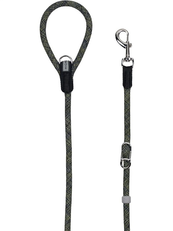 H5d Leisure Leader Leiband zwart 13mm x 140cm