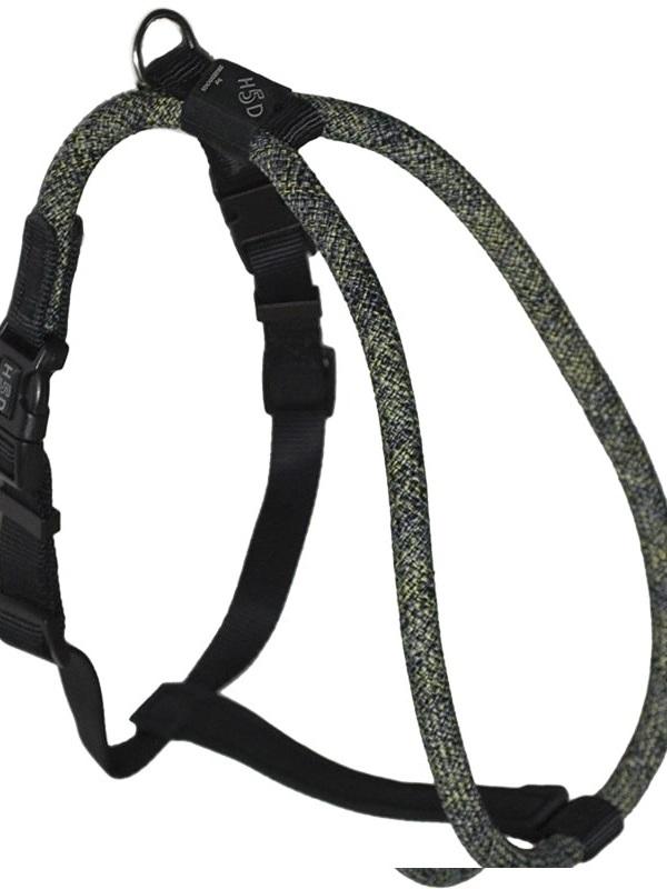 H5d Leisure Rope Walker Tuigje Zwart-S-M 13mmx51-61cm