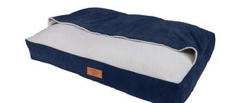 Snuggle bed cody denim 80X60X15CM (jaens blauw)