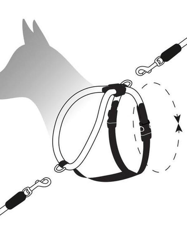 H5d Leisure Rope Walker Tuigje Zwart L 13mmx71-95cm