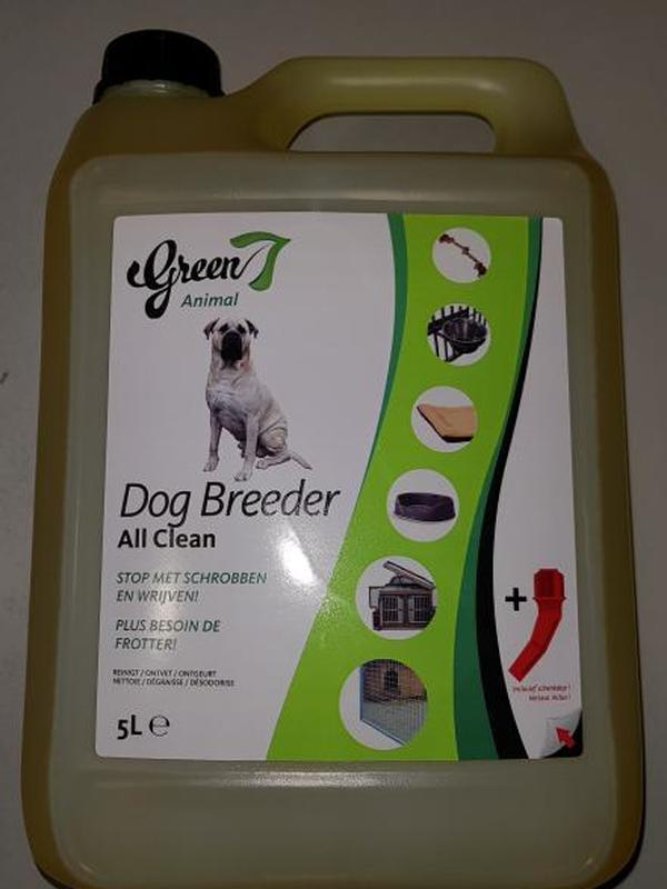 Green 7 DOG BREEDER All Clean 5 L