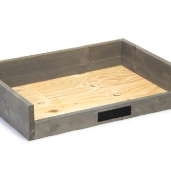 BZ houten ligmand Hudson H 100X70X19,5cm