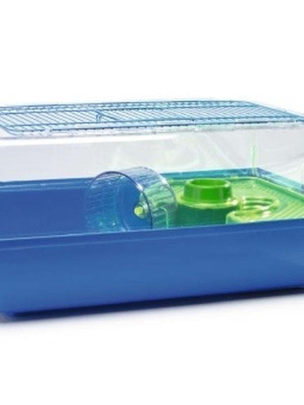 Hamsterk Alex blauw/groen 58x38x25cm