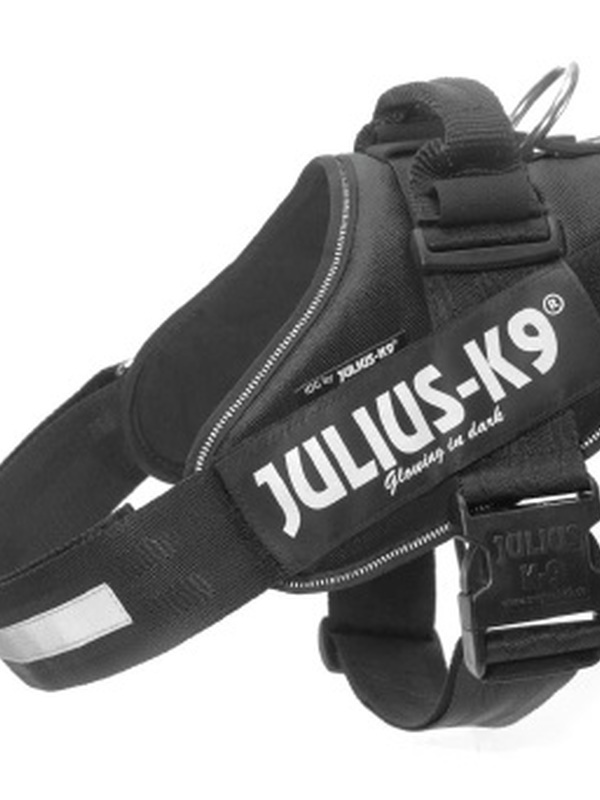 Julius K9 IDC Powertuig Maat 1 Zwart 63-85 cm