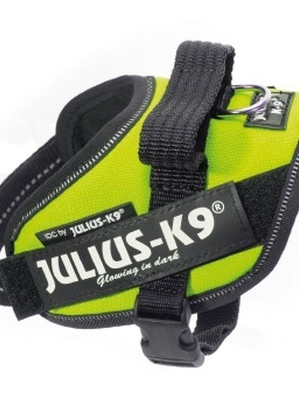 Julius K9 IDC Powertuig Mini Mini Neon Groen 40-53 cm