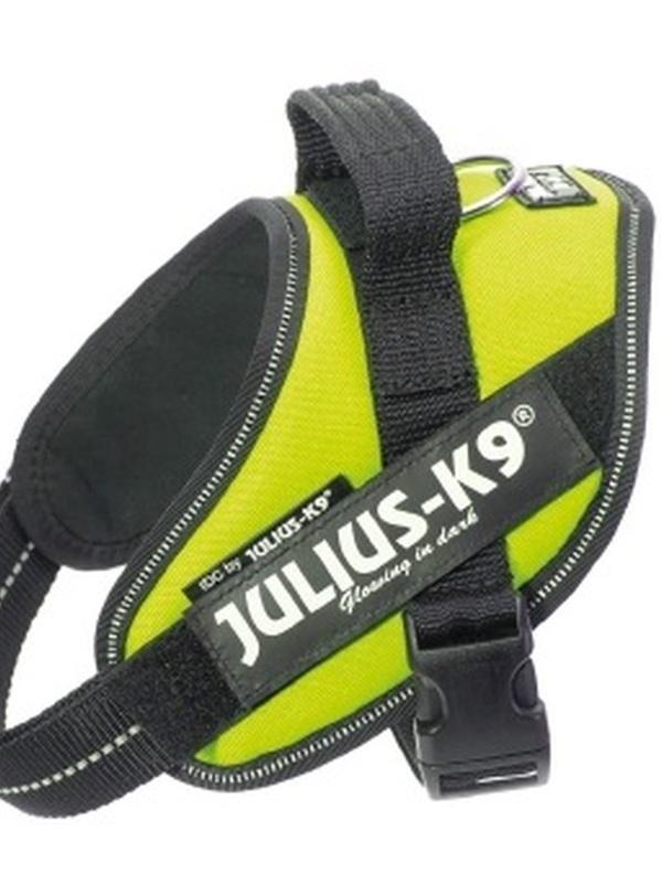Julius K9 IDC Powertuig Mini Neon Groen 49-67 cm