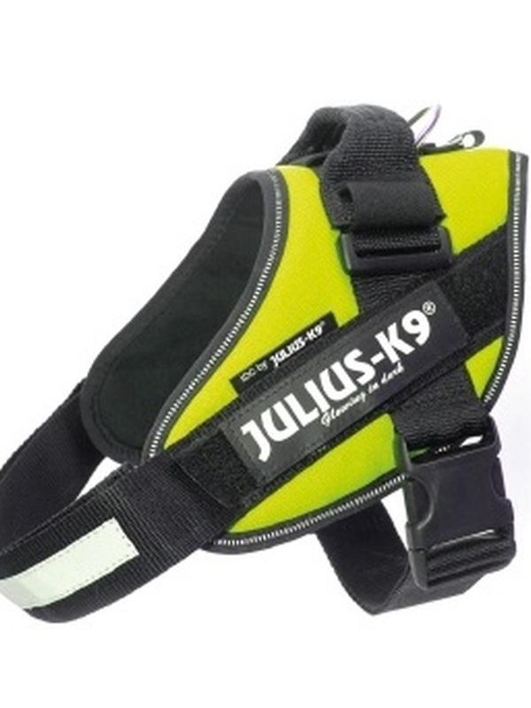 Julius K9 IDC Powertuig Maat 0 Neon Groen 58-76 cm