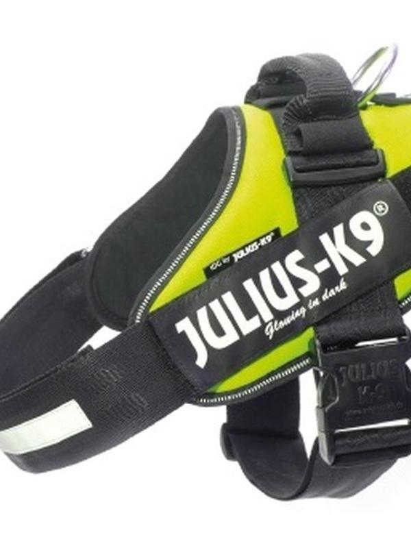Julius K9 IDC Powertuig Maat 1 Neon Groen 63-85 cm