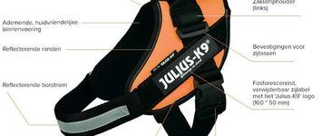 Julius K9 IDC Powertuig Maat 2 Rood 71-96 cm