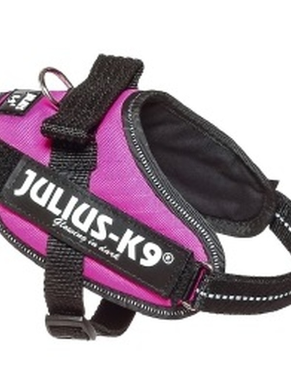 Julius K9 IDC Powertuig Mini Roze 49-67 cm