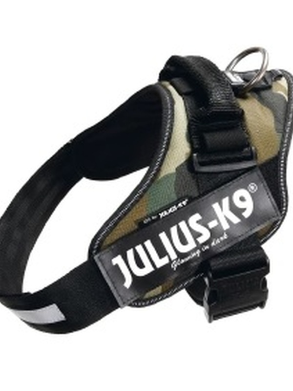 Julius K9 IDC Powertuig Maat 1 Camouflage 63-85 cm