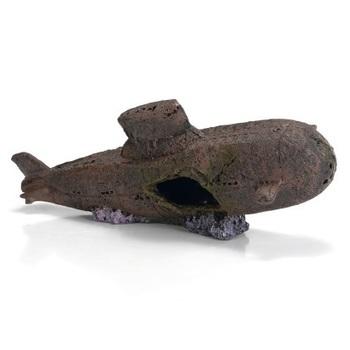 Polyresin duikboot 41x15x16 cm