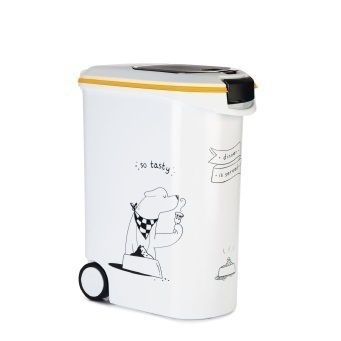 Curver DIS - Voedselcontainer Hond - Wit - 54L - 20kg