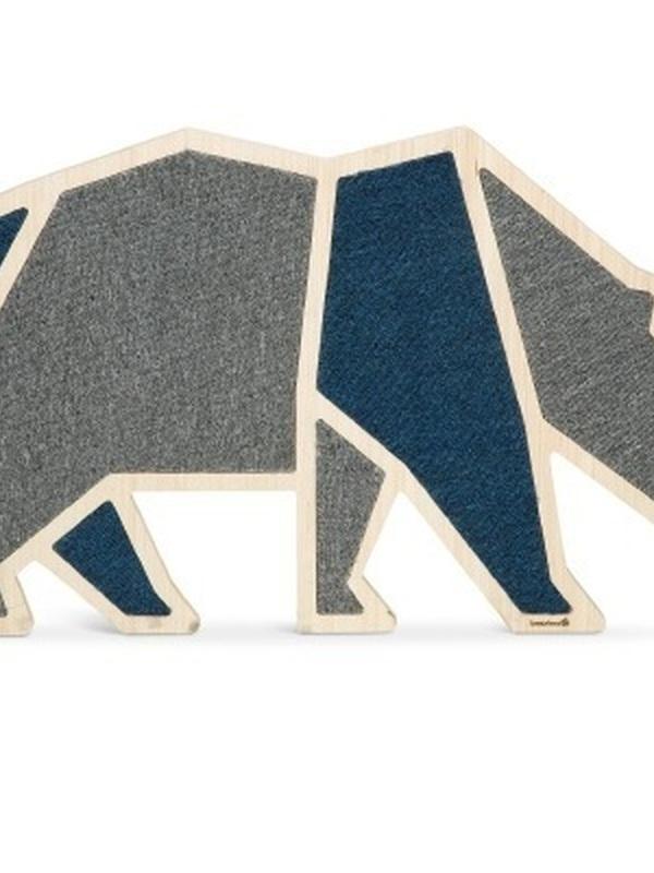 Bz Blue Bear - Krabplank - Hout - 84x54x1,8 cm