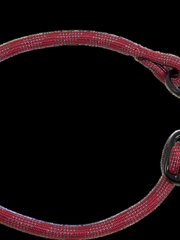Nylon Sliphalsband M - 8 mm x 35-40 cm - halsomvang: 35-40cm rood