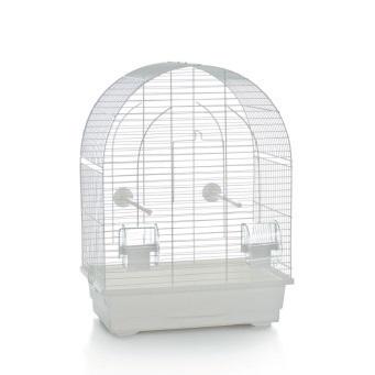 Vogelkooi Lucie klein wit 39x25x53 cm
