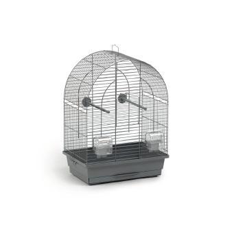 Vogelkooi Lucie klein grijs 39x25x53 cm