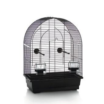 Vogelkooi Lucie klein. Zwart. 39x25x53 cm